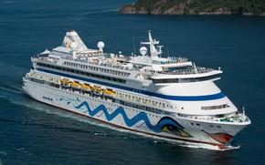 Picture sea, ship, liner