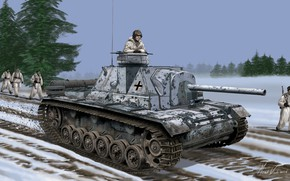 Picture Soldiers, The Wehrmacht, Trophy, SU-76И, Self-propelled artillery