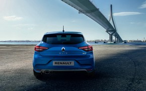 Picture bridge, Renault, Clio, rear view, hatchback, 2019, RS Line