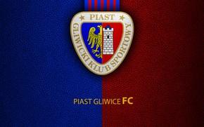 Picture wallpaper, sport, logo, football, Piast Gliwice