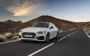 Picture road, Audi, speed, RS5, Sportback, RS 5, 2020