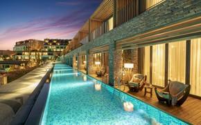 Picture stay, pool, Turkey, Bodrum, Lujo Bodrum A`la Carte