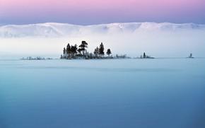 Picture the sky, snow, hills, Trees, Adnan Bubalo