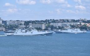 Picture frigates, Sevastopol, Admiral Essen, Admiral Grigorovich