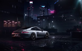 Wallpaper Auto, 911, Porsche, Machine, Porsche 911, Rendering, Need For Speed, Porsche 911 Carrera S, Carrera ...