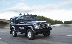 Picture highway, prototype, Land Rover, Defender, 2013, All-terrain Electric Research Vehicle