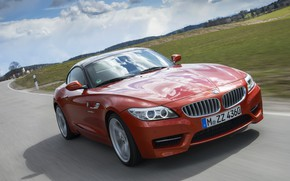 Picture movement, the hood, BMW, Roadster, 2013, E89, BMW Z4, Z4, sDrive35is