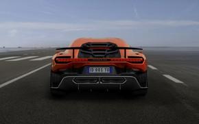 Picture supercar, wing, V10, feed, ItalDesign, 2017, Zerouno, 5.2 L.