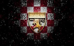 Picture wallpaper, sport, logo, football, glitter, Torino, checkered