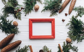 Picture decoration, frame, New Year, Christmas, Christmas, wood, New Year, decoration, frame, Merry