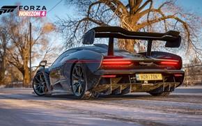 Picture McLaren, Microsoft, Senna, E3 2018, Forza Horizon 4
