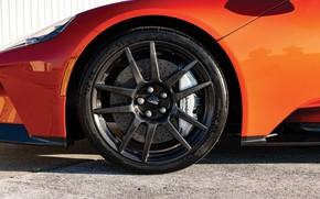 Picture Ford, wheel, supercar, Ford GT, 2017, H063, Beryllium Orange