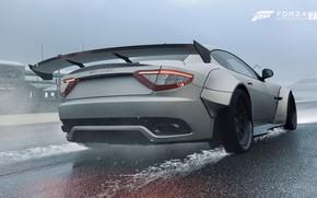 Picture Maserati, HDR, Rain, Game, Maserati Grant Turismo, FM7, UHD, Forza Motorsport 7, 4K, Xbox One …