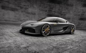 Picture supercar, koenigsegg, dark background, koenigsegg gemera