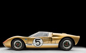 Picture Ford, Profile, 1966, 24 Hours of Le Mans, 24 hours of Le Mans, GT40, Sports …