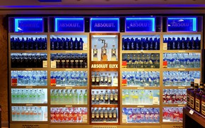Picture color, holiday, taste, alcohol, bottle, absolute, vodka, duty free
