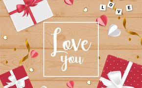 Picture holiday, the inscription, Love, background, Heart, Valentines day, Celebration