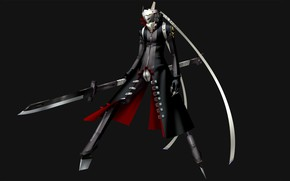 Picture weapons, the game, sword, anime, art, Person 4, person