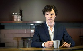 Picture Cup, Sherlock Holmes, Benedict Cumberbatch, Sherlock, Sherlock BBC, Sherlock Holmes, Sherlock (TV series)