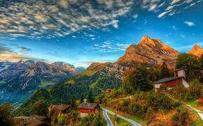 Picture mountains, Switzerland, Alps