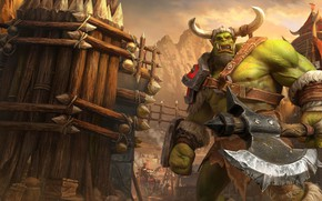 Picture axe, Orc, Warcraft III, Warcraft III: Reforged