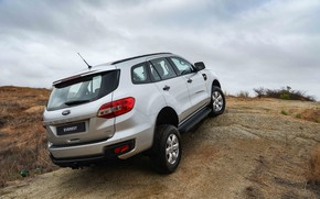 Picture Ford, SUV, Everest, 4WD, 2015, frame, XLS