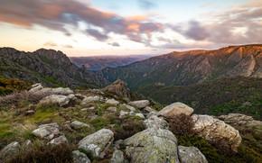 Picture mountains, stones, rocks, France, Carroux