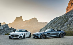 Picture Roadster, Mercedes-Benz, pair, AMG, AMG GT