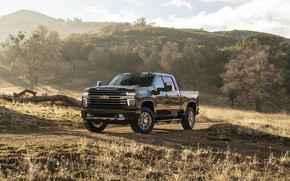 Picture hills, Chevrolet, pickup, Silverado, High Country, 2020, 2500 Heavy Duty