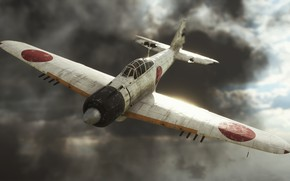 Picture flight, the plane, Battlefield V