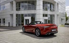 Picture Lexus, convertible, 2021, the building, LC 500 Convertible