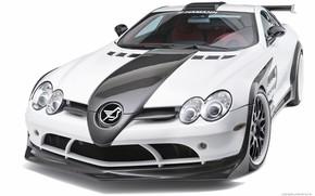 Picture coupe, supercar, Mercedes-Benz SLR McLaren, hamann volcano