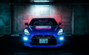 Picture Nissan, GT-R, front view, R35, 50th Anniversary, JP-Spec, 2019, Japan version