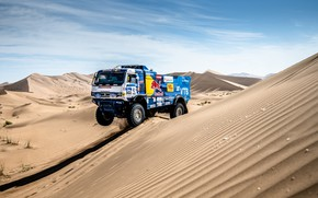 Picture Sand, Machine, Speed, Truck, Race, Master, Russia, Race, Russia, Speed, 302, Kamaz, Rally, KAMAZ-master, Rally, …