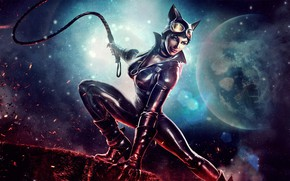 Picture costume, Catwoman, catwoman, whip, Selina Kyle, Selina Kyle