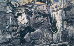 Picture Solitude, Charles Ephraim Burchfield, 1944-63