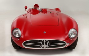 Picture Maserati, Lights, Classic, Classic car, 1955, Icon, Sports car, Grille, Maserati 300S