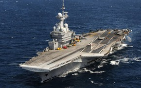 Picture The carrier, French Navy, Charles de Gaulle (R91), Marine Nationale