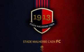Picture wallpaper, sport, logo, football, Ligue 1, Stade Malherbe Caen
