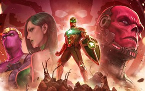 Picture the game, characters, Marvel, Marvel: Future Fight
