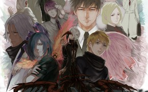 Picture monster, characters, Tokyo Ghoul, Tokyo ghoul