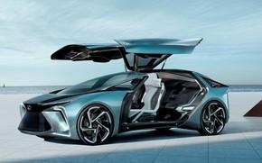 Picture car, concept, electric, lexus if30