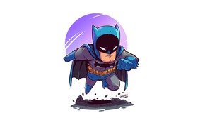 Picture Batman, pose, Derek Laufman
