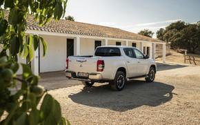 Picture Mitsubishi, pickup, building, Double Cab, L200, Triton, 2019