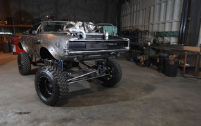 Picture Dodge Charger, Garage, Vehicle, Modified