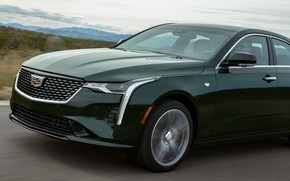 Picture Cadillac, sedan, the front part, four-door, 2020, CT4