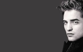 Picture look, face, background, Robert Pattinson