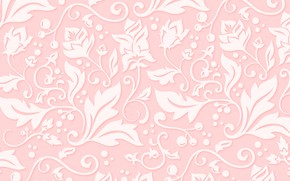 Picture flowers, background, pink, pattern