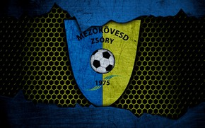 Picture wallpaper, sport, logo, football, Mezokovesd Zsory