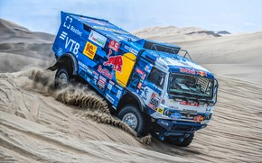Picture Sand, Auto, Machine, Truck, Race, Master, Russia, 500, Kamaz, Rally, Dakar, KAMAZ-master, Dakar, Rally, KAMAZ, …